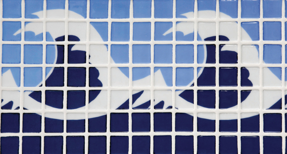 Mozaika szklana- dekory