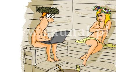 35. Specjalne rady dla korzystających z sauny po raz pierwszy.